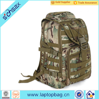 Military tactical backpack rucksack camping hiking laptop book bag camouflage