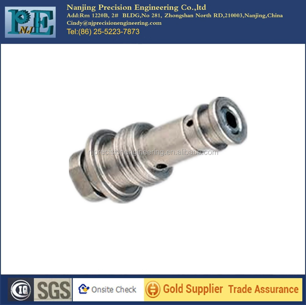 ODM and OEM precision cnc machining pump shaft