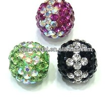 12mm new multicolor Crystal Shamballa Beads/disco balls wholesale