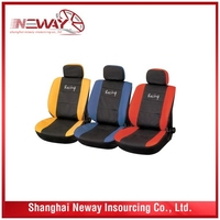 The Newest economic logo print auto repair car seat cover