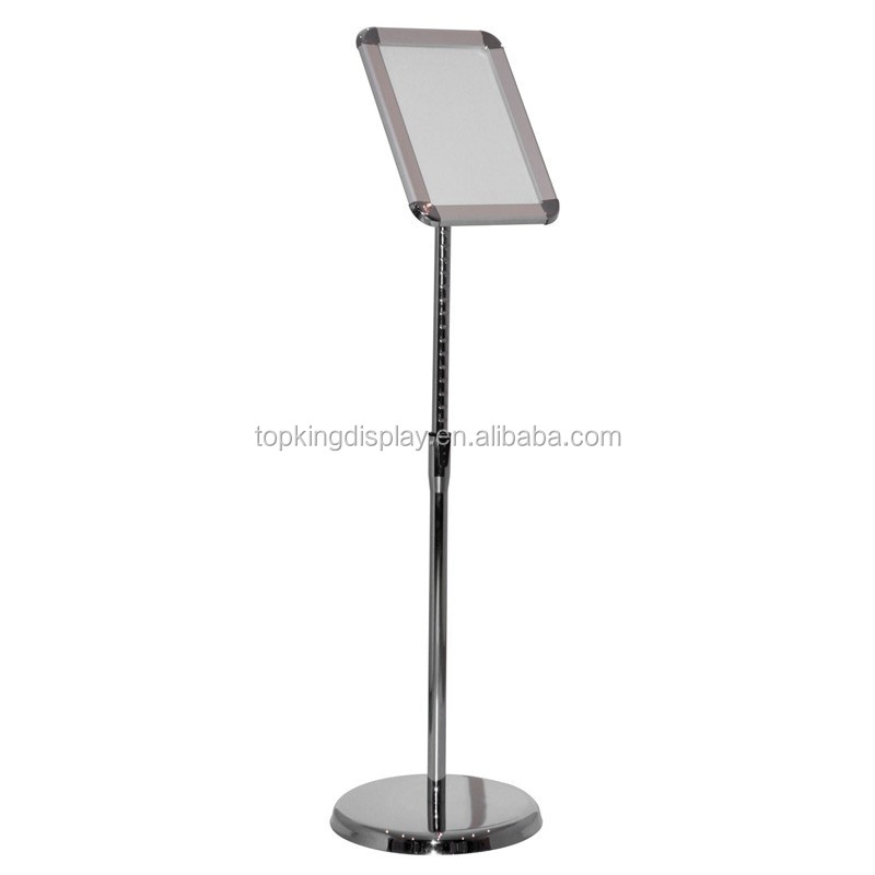Eco-friendlysilver a1 sign poster stand