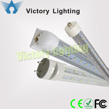 Aluminum Alloy+PC t8 6ft 39w 1.8m tube led lighting from shenzhen