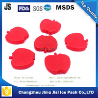 Ice Packs Set Of 4 - RED APPLE Great for Lunches,Coolers
