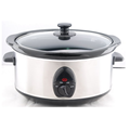 Kitchen appliances germany standard oval 6.5l cb electric slow cooker
