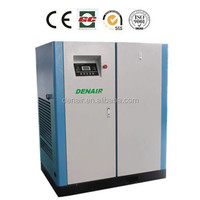 rotary screw compressor 100hp factory air compressor with CE, ISO, SGS
