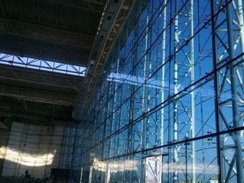Transparan Glass Spider Facade, Spider Cam Cephe, Glass Entrances