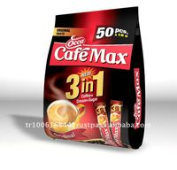 50 PCS X 3in1 IN A BAG -ECONOMY PACK - OCCA CAFEMAX 3in1 Coffee Mix -( SUGAR, COFFEE, CREAM)