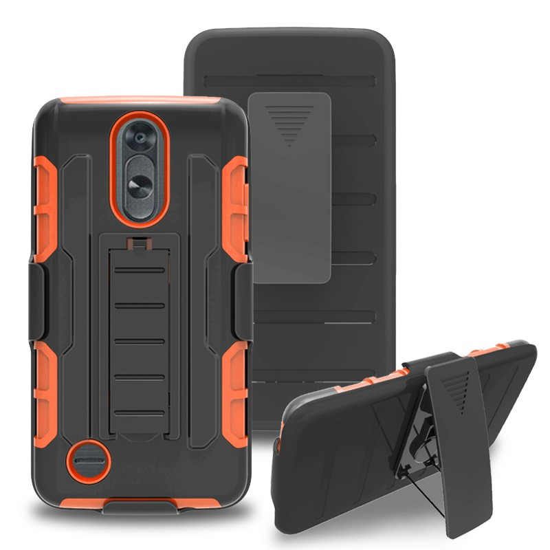 Made in china most popular products robot mobile phone case for Lg Aristo