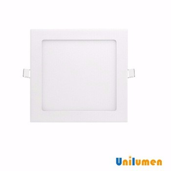 square 120x120mm ce rohs 4100k pure white 6w flat led ceiling panel light
