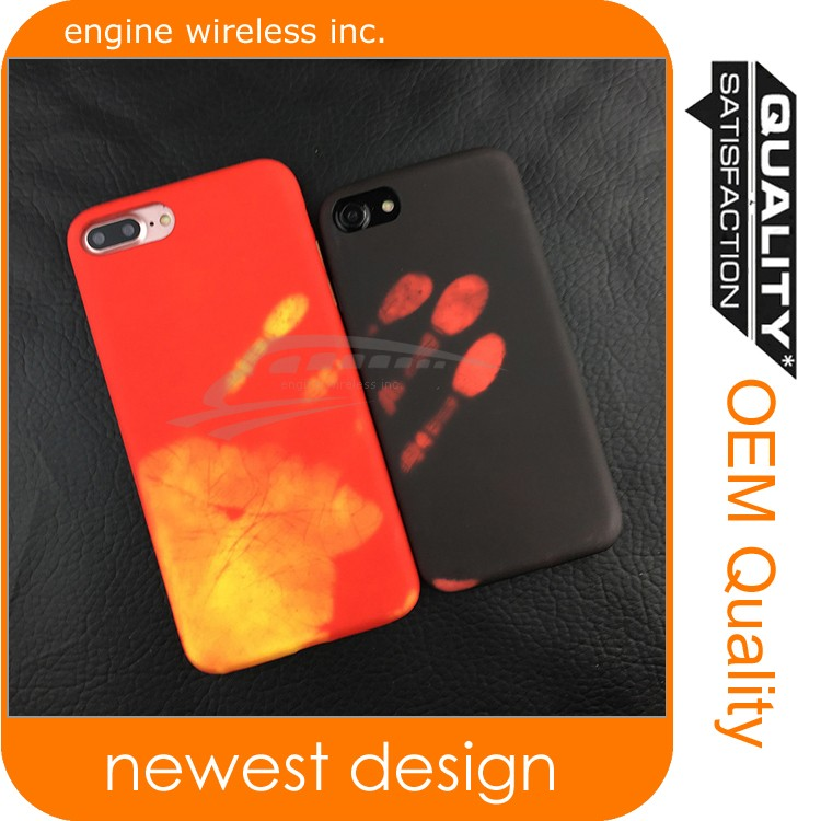 hot sensor case for ipone 7 ,new products 2017 custom