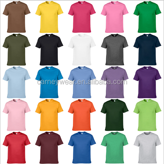 wholesale comfort colors t-shirt manufacturers custom mens bulk blank plain t-shirts