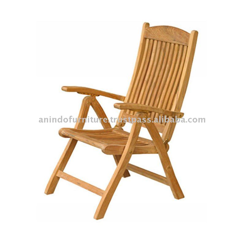 Teak Outdoor Furniture - Windham Reclining Chair