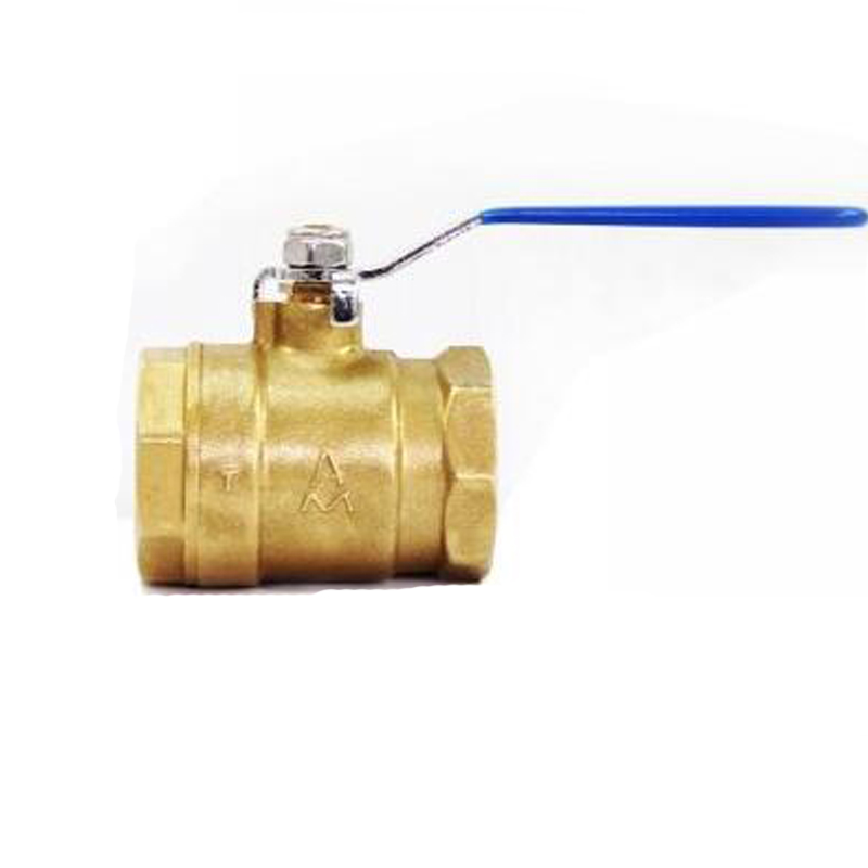 Panel Mount Brass Lockable Hand-Operated Ball Valve