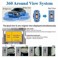 Popular Factory 4 channels video input 360 degree car camera system