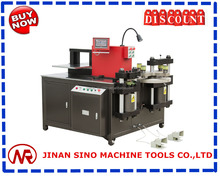 Turret cnc copper hydraulic busbar cutting punching bending machine