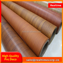 China manufacturer wood grain pvc membrane foil