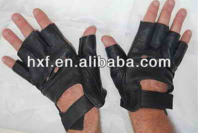 leather gloves without finger