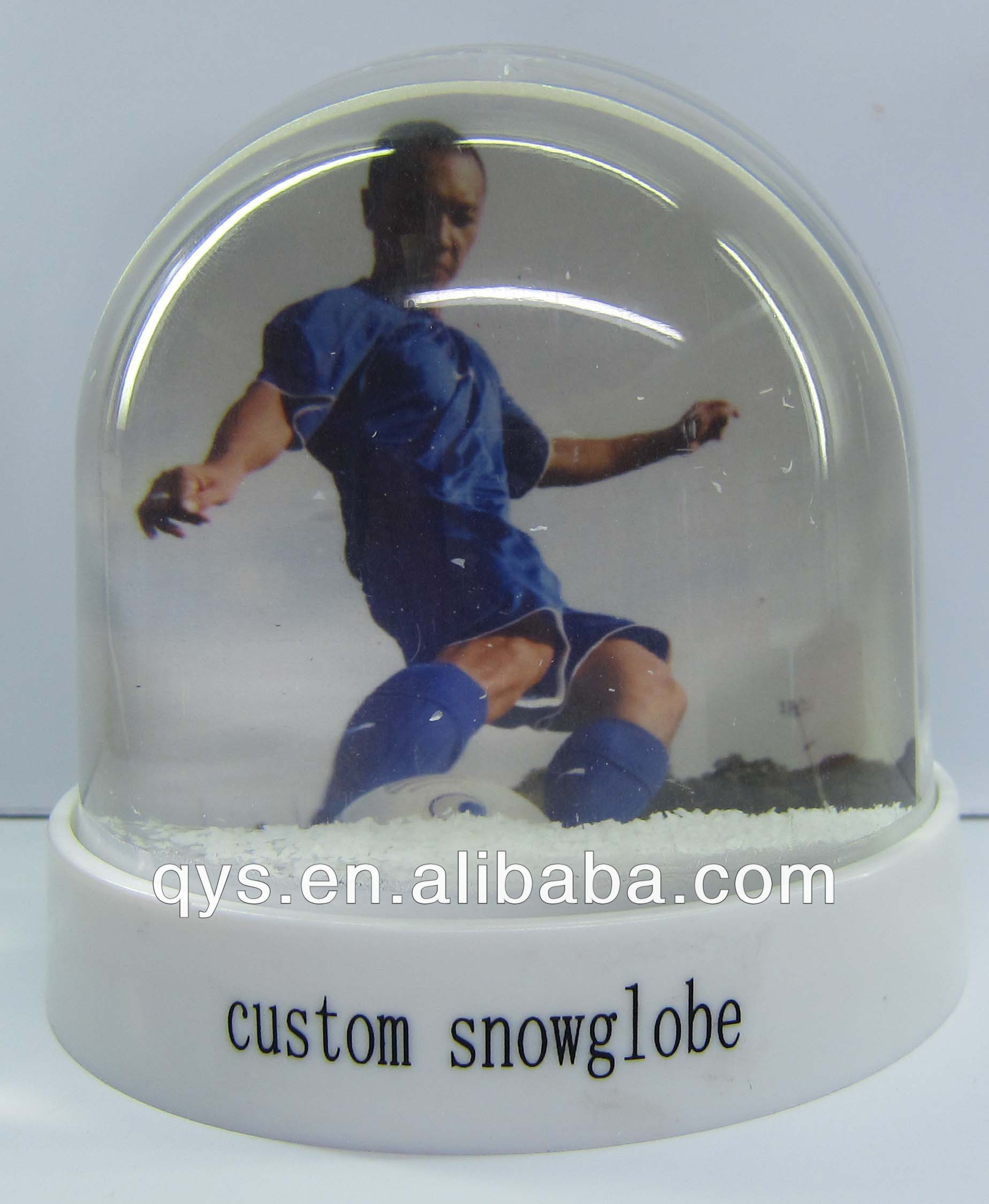 New water globe with photos inserted