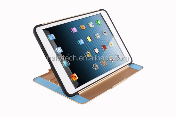 New Model High TPU PC Colorful Case For iPad mini 2