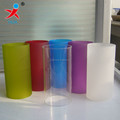 colored decorative frosted borosilicate glass tube lamp shade