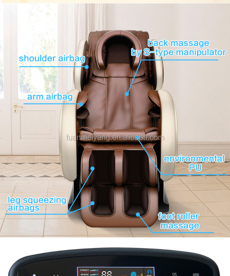 Hot Sale Zero Gravity Space Massage Recliner Sofa Chair