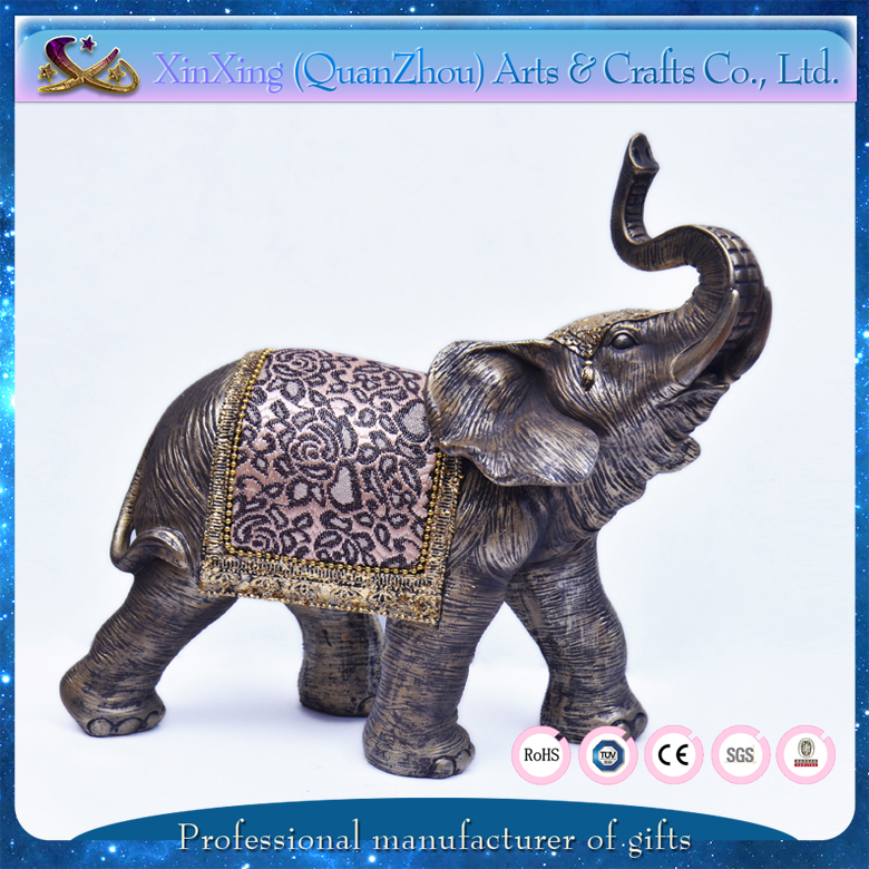 Thailand style elephant resin crafts for home decoration