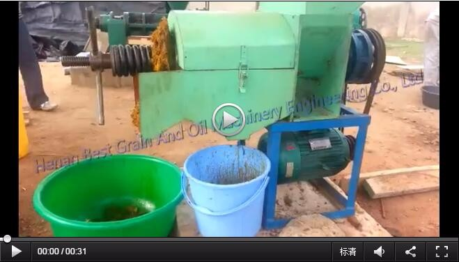 Hot quality 300-500kg/h Palm oil press machine with CE ISO