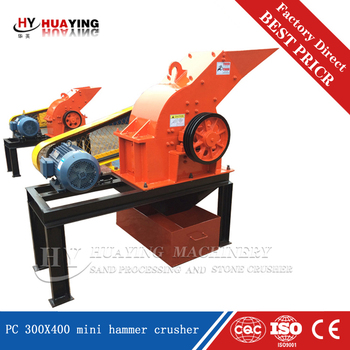 China leading factory high quality smart PC400X300 hammer crusher