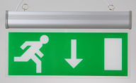 Hot sale customizable economic rechargeable led emergency light for exit sign
