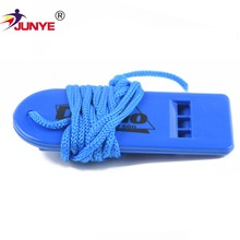 free sample wholesale cheap plastic toy slide sports referee whistle for children