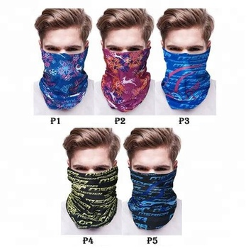 KaPin Fashion Multi-function Seamless Headscarf Bandanas for Men Women