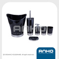 Sellaeform plastic bathroom set with stainless steel bottom