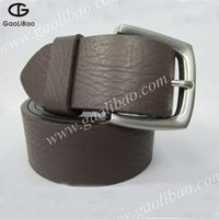 customed leather belt