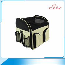 Popular design pet bag on wheels easy to carry pet carrier bag