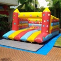HOLA star inflatable bouncer house/adult bounce house