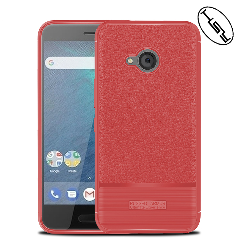 HUYSHE for HTC X2 Rugged Armor Back Cover Soft Case Litchi Grain Leather TPU Case for HTC X2