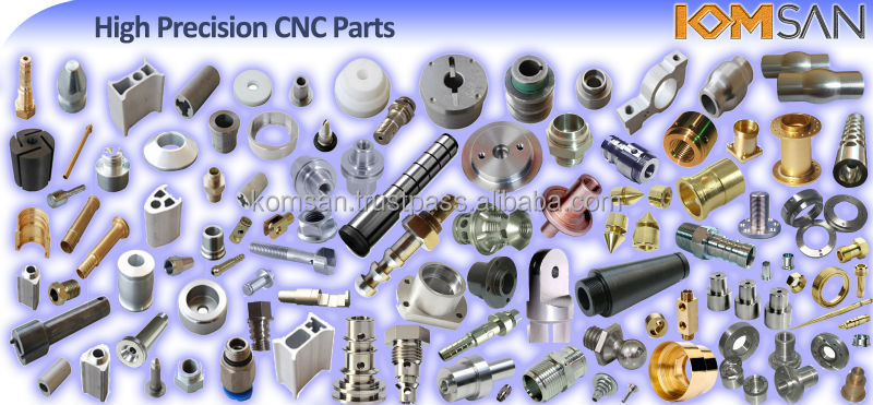 High Precision CNC Machining Parts - Lathe Machining *3dia to *250dia mm - Vertical CNC Machining 1000x1800mm