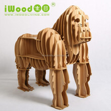 wood crafts King kong shape MDF crafts