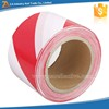 Non-Adhesive Caution Tape Roll Soft PE Red and White Caution Tape