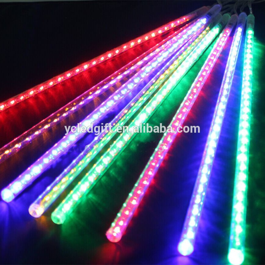 3528 Double Side Led Tube Meteor Rain Led Light Outdoor