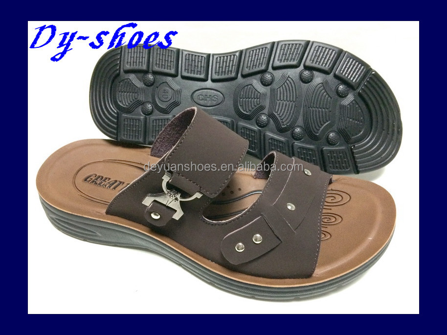 china summer pu injection sandals slipper