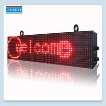 Aliexpress china open full color RGB board set led full color high definition outdoor sign