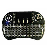 Handheld i8 Pro 2.4G Mini Wireless Keyboard with Backlit Mouse Touchpad For PC Android TV Box