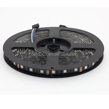 SMD led 5050 Led strip lights 12v Cuttable led flexible strip black PCB board