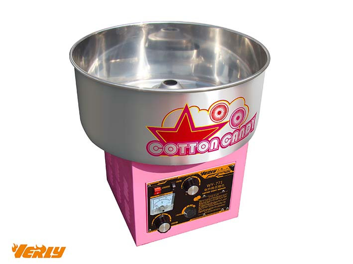 HOT SALE! Electric Fairy Floss Sugar Cotton Candy Machine Cart VC-200