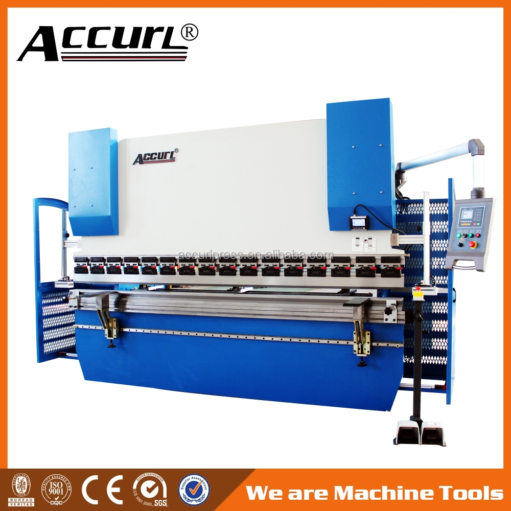 easy to operate WC67Y <strong>K</strong> - 40 ~ 250T / 2500 ~ 4000mm bending machine price stainless steel product