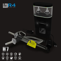 New arrival OEM high power pure white waterproof h7 led headlight 3600lm