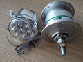 Generator light hubs for motorized bicycle engine kit 48cc