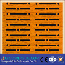 dance halls sound deadening sheet customized wooden acoustic panel