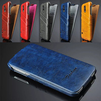 back card slot oily leather for samsung galaxy s5 case,flip cover for samsung s5